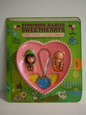 1968 Mattel Storybook Liddle Kiddles Sweethearts Robin Hood & The Maid Marion