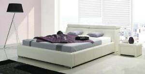 Double Bed Beds Upholstered Bed Double Beds Bedstead Leather Bed