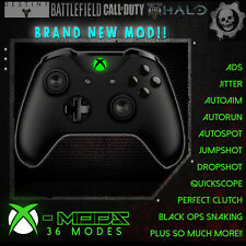 XBOX ONE RAPID FIRE CONTROLLER - NEW MOD - BEST ON EBAY! - Blackout Green LED