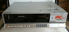 Vintage Sanyo VCR-4670 Betamax Betacord Beta Video Cassette Recorder 1984