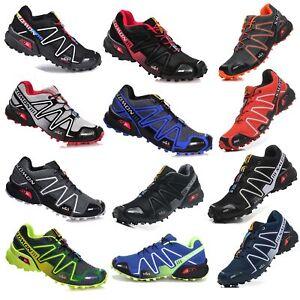 Men Salomon Speedcross 3 Resistant Running Shoes Athletic Trainers NEW COLOR