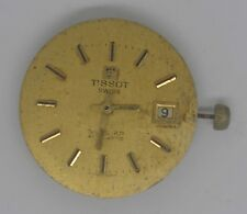 VTG TISSOT SEASTAR Movement & Dial. Cal:2481. S/N:16405681. Parts Or Repairs