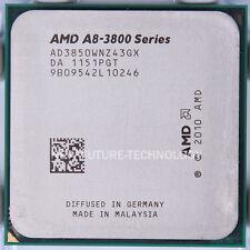 AMD A8-series A8-3850 2.9 GHz Quad-Core FM1 CPU AD3850WNZ43GX US Free Shipping