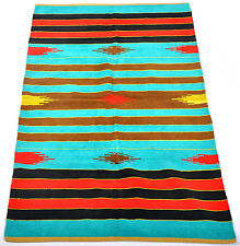 Cotton Blend Indian Regional Rugs