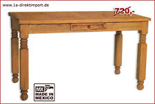 Esstisch Tisch MEXICO, ausziehbar bis 250cm, Pinie massiv, original Mexiko Möbel