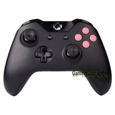 Matted Pink ABXY + Guide Buttons Custom Replace Parts For Xbox One Controller