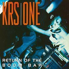 KRS ONE - RETURN OF THE BOOM BAP  2 VINYL LP NEW!