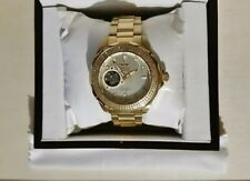 Invicta .75ct Diamond gold tone automatic watch