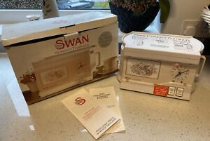 Swan Compact Teasmade Brand New Illuminated Clock Face Boxed Vintage