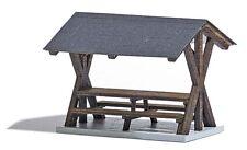Busch 1563 scala H0, AREA PIC-NIC COPERTA # NUOVO in scatola originale #