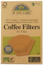 If You Care Coffee Filters No.4 Unbleached - 100 Filters