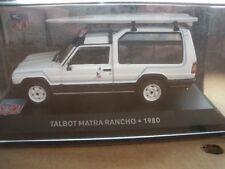 Voiture miniature Talbot Matra Rancho - 1980   1/43