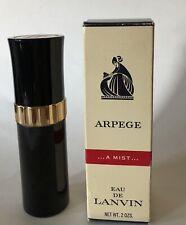 VINTAGE ARPEGE EAU DE LANVIN  MIST SPRAY IN BOX