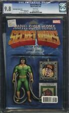 Secret Wars #3 CGC 9.8 Doctor Octopus Action Figure Variant Cover