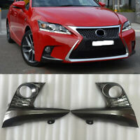 2x Front Bumper Trim Fog Lamp Light Cover Fit For 2014-2017 Lexus CT200h F-Sport