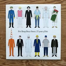 PET SHOP BOYS STORY (25 YEARS OF HITS) 2009 MAIL ON SUNDAY POP PROMO CD