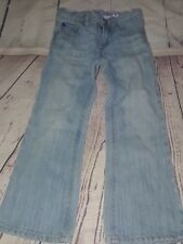 Baby Gap light wash bootcut jeans size 4 adjustable waist