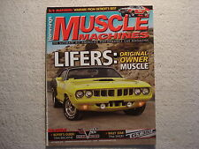 Muscle Machines 2013 September 71 Cuda 66 Biscayne L72 427/425hp Mustang GT