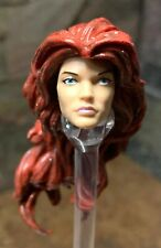 "Hasbro Marvel Legends Custom Female Head for 6"" - 6 inch figure OOAK Headsculpt"