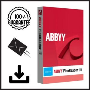 ABBYY Fine Reader Corporate 15 ⭐For Windows ⭐ INSTANT DELIVERY ⭐Full Version⭐