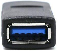 Adaptateur Convertisseur USB 3.0 Femelle/Femelle Connecteur Rallonge Prise 5Gbps