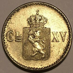 NORWAY: 4 skilling 1871, nice cond.