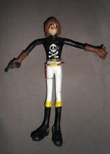 CAPITAN HARLOCK Flexi 1978 Ceppi Ratti Captain Herlock Bendable Figure Vintage