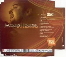 JACQUES HOUDEK CD + DVD Live in SAX Soul Sisters & Soul Club Band Georgy Porgy
