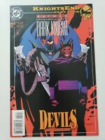 BATMAN LEGENDS OF THE DARK KNIGHT #62 (1994) DC COMICS KNIGHTSEND Part 4 DEVILS