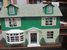 Vintage Marx Tin Litho 2 Story Dollhouse House