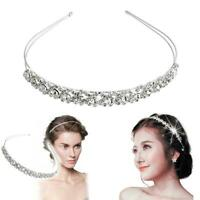 Bridal Bridesmaid Diamante Crystal Rhinestone Headband Wedding Prom Hairband