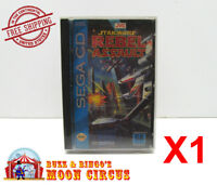 1x SEGA CD GAME CLEAR PROTECTIVE BOX PROTECTOR SLEEVE CASE - FREE SHIPPING!