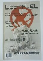 GEEK FUEL Magazine MOCKINGJAY Cover Issue #10 November 2015 New! 21 pages