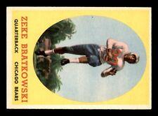 ZEKE BRATKOWSKI 1958 TOPPS 1958 NO 23 EX+  22683