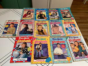Full House Stephanie Books Young Reader Lot Of 13 1990's