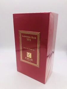 Emor London Oud No. 3 Eau De Parfum Spray Unisex 4.2 oz New Fragrance