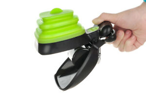 Dog Pet Travel Foldable Pooper Scooper With 1 Roll Decomposable bags Poop scoop
