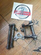 Honda XR350R 1983 engine motor mounting mount plate bracket bolt hange 1984 1985