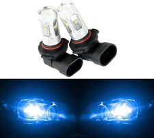 LED 30W 9006 HB4 Blue 10000K Two Bulbs Head Light Replace Show Use Low Beam