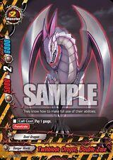 Buddyfight Twinblade Dragon  Double Zase PR/0013EN  PR Near Mint Fast Shipping!