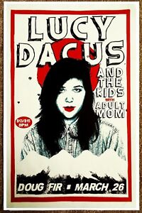 LUCY DACUS Gig 2018 POSTER Portland Oregon Concert