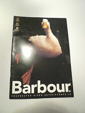 BARBOUR-NEW ADDITIONS WINTER 98/SPRING 99 BROCHURE-ALL IN FRENCH