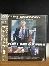 In The Line Of Fire Japanese Import With OBI