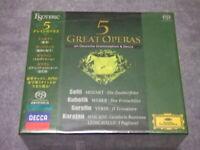 5 GREAT OPERAS ESOTERIC SACD / CD Hybrid CD BOX Box set from JAPAN F/S