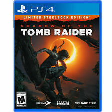 Shadow of The Tomb Raider - Limited Steelbook Edition (PlayStation 4 Ps4)