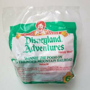 1994 Vintage McDonalds Disneyland Winnie the Pooh Meal Toy (Sealed) NEW
