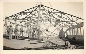G68/ Occupational RPPC Postcard c1910 Building Construction Crew 21