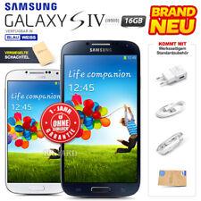Neu Versiegelt Ohne Simlock SAMSUNG Galaxy S4 i9505 Blau Weiß 16GB Android Handy