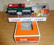 LIONEL 6-29303 CHRISTMAS NORTH POLE CENTRAL CRANE CAR O GAUGE TOY TRAIN PRESENTS