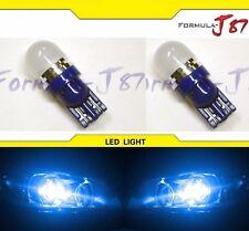 LED 5050 Light 168 Blue 10000K Two Bulbs Side Marker Map Step Door Parking Trunk